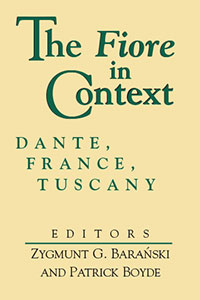 The Fiore in Context: Dante, France, Tuscany book cover